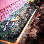 монтаж станции биологической очистки антей био